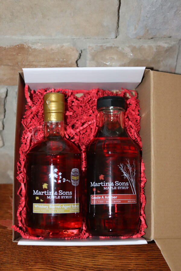 Martin and Sons Maple Syrup Gift Box