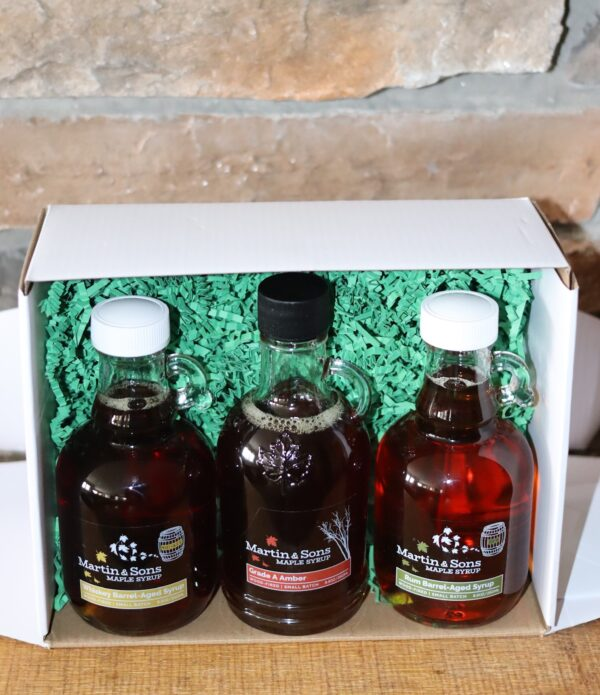 Martin and Sons Maple Syrup Sampler